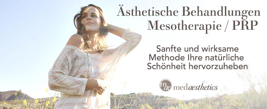 Eine Ästhetische Behandlungen Mesotherapie / PRP verstärkt Ihre natürliche Schönheit